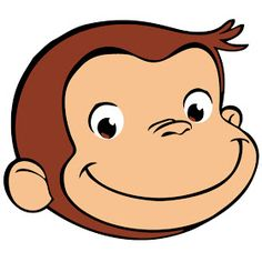 Free printable curious george clip art.