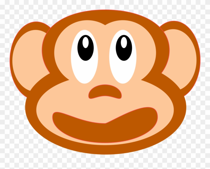 Monkey Snout Animal Curious George Face.