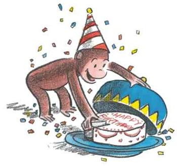 Curiosity George Birthday Party Planner.