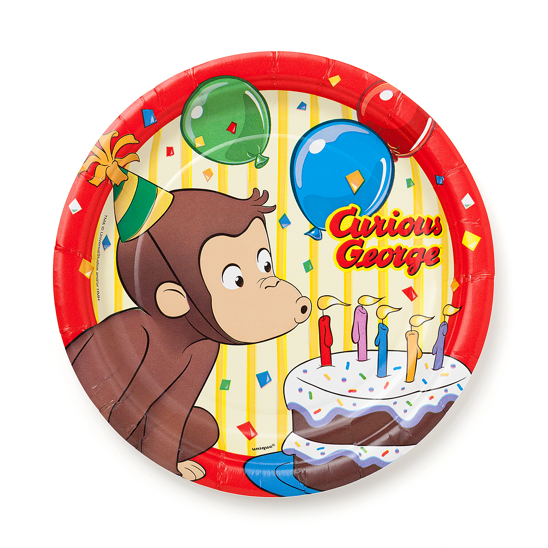 Curious George Cake Plates, 8.