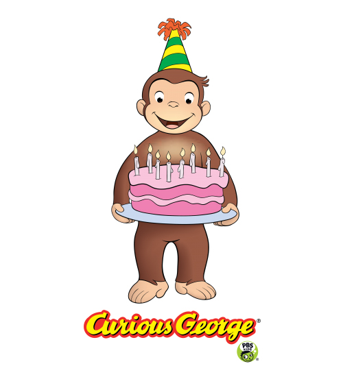 Kid's Club 5th Birthday Party with Curious George at Hillsdale.