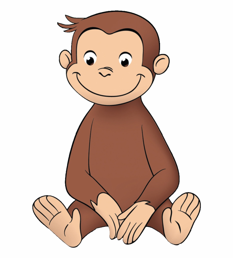 Curious George Clipart Monkey.