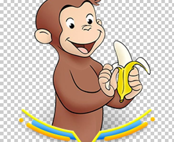Curious George YouTube PNG, Clipart, Area, Arm, Birthday, Cartoon.