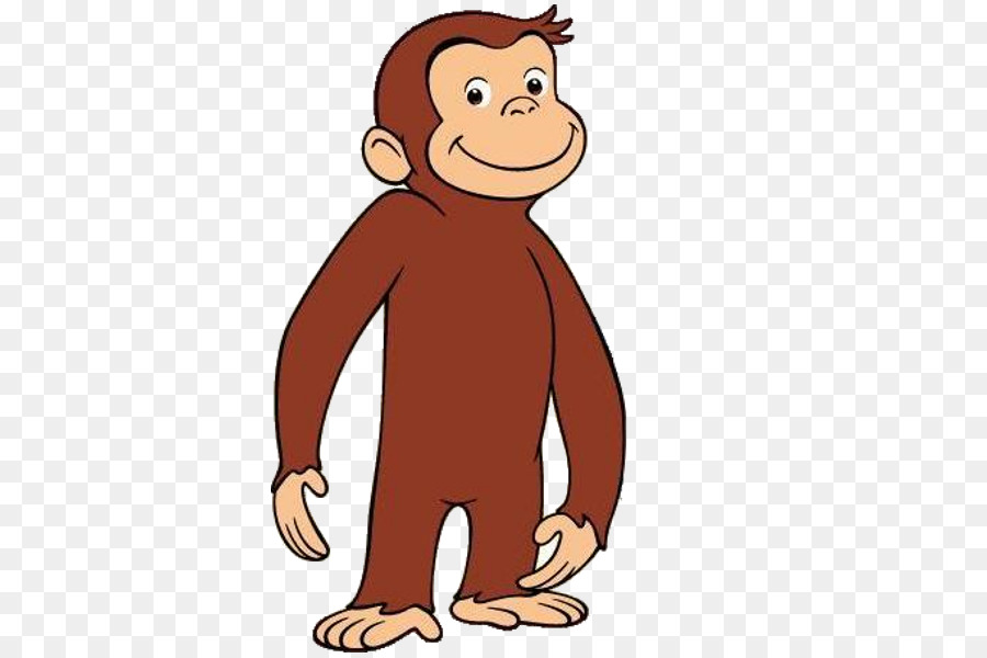 Curious George Neck png download.