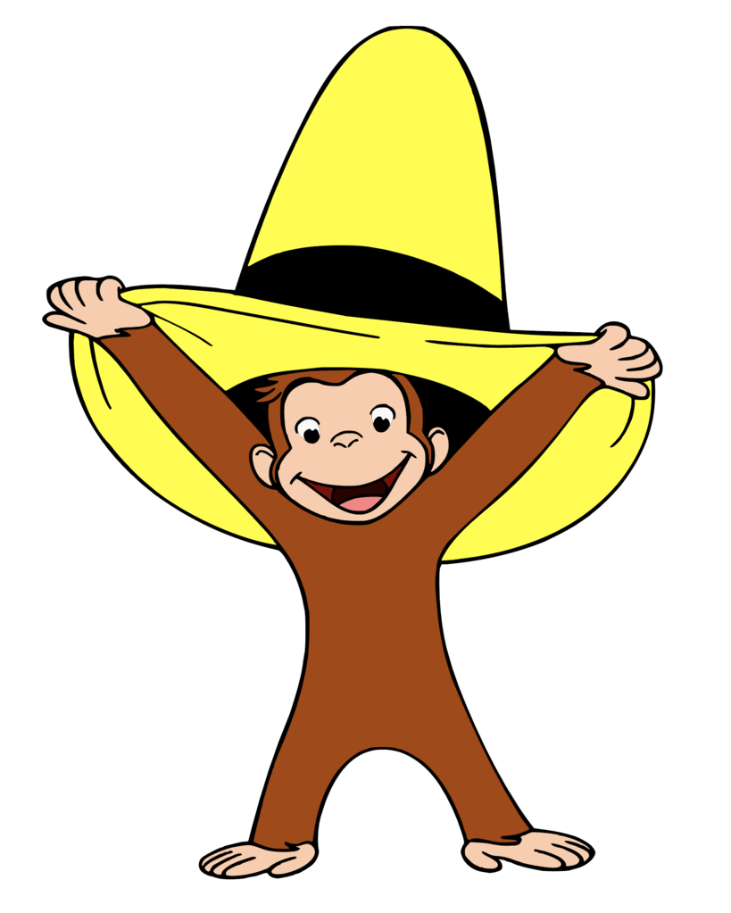 Curious George Hat Transfer.