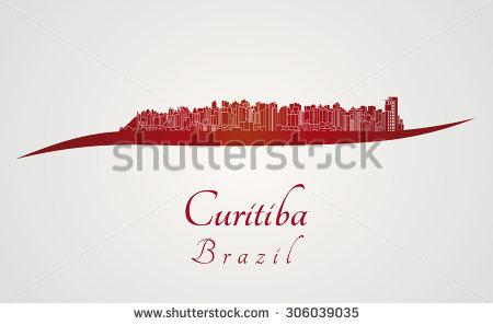 Curitiba Brazil Stock Vectors & Vector Clip Art.