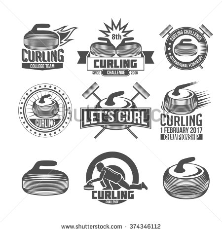 Curling Stock Photos, Royalty.