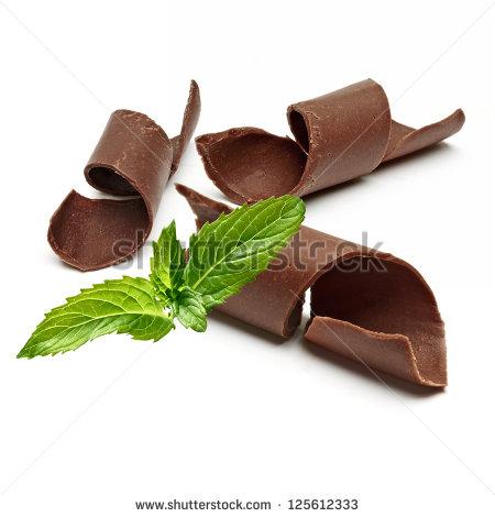 Chocolate Mint Stock Photos, Royalty.