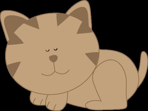 Kitty cat clip art.