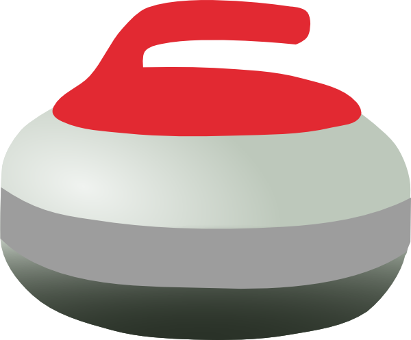 Curling Clipart.