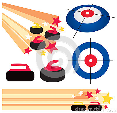 Curling Clipart Page 1.