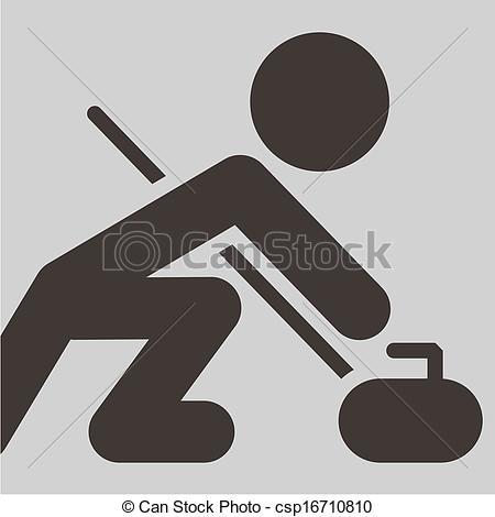 Curling broom Vector Clipart EPS Images. 182 Curling broom clip.