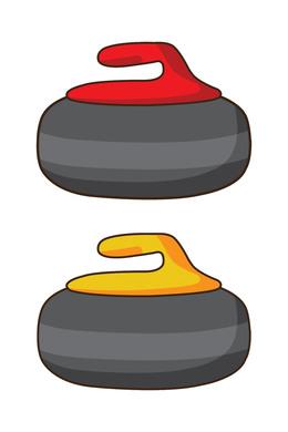Download curling rock clip art clipart Curling Stone Clip art.