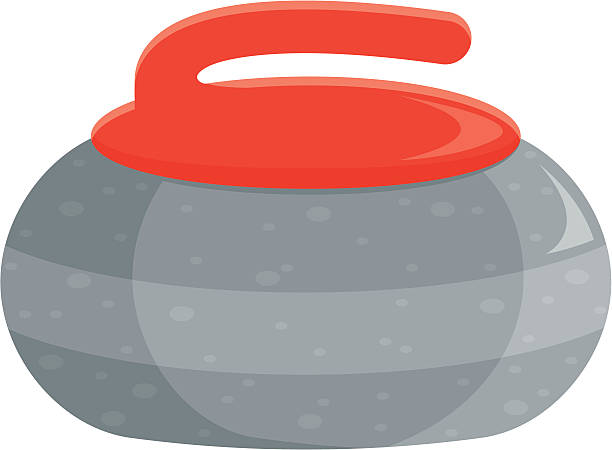 Best Curling Stone Illustrations, Royalty.