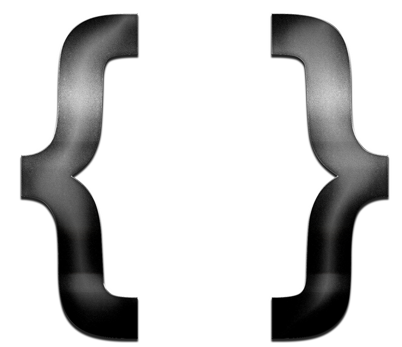Curly Brackets PNG Images Transparent Free Download.