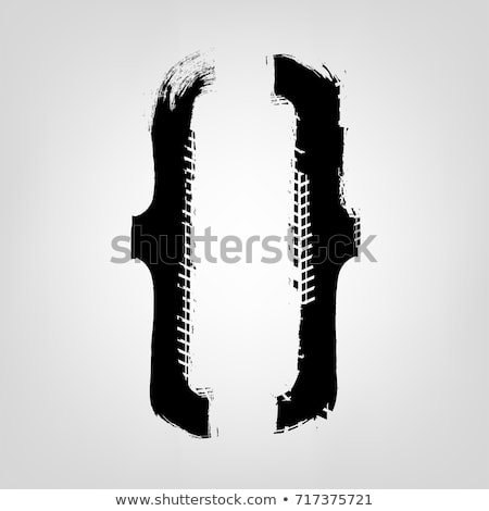 Curly Brackets Free Vector Art.