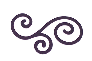 Curly Cue Clipart.