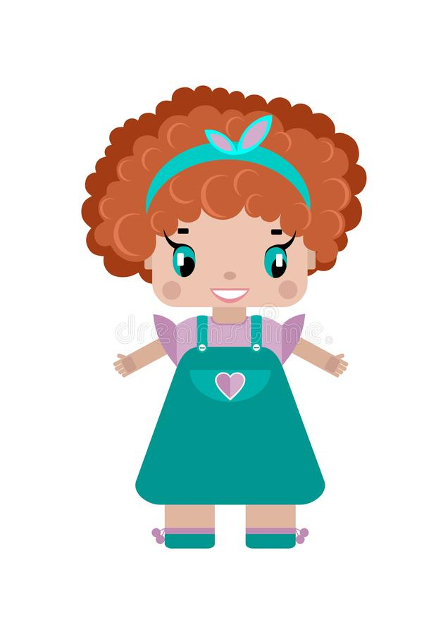 Curly Hair Stock Illustrations.