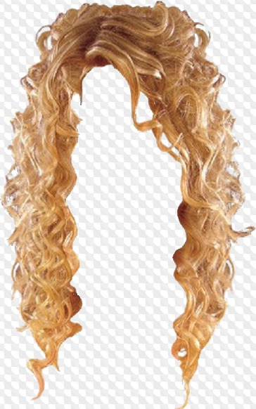 PSD, 40 PNG, Long female hairstyles, blondes, red, black, straight.