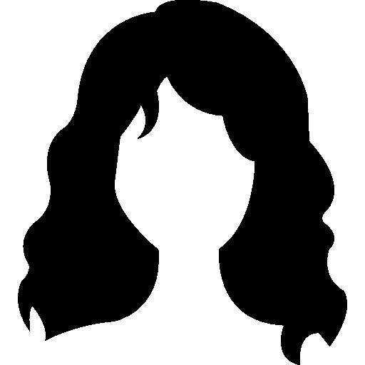 Long wavy hair variant Icons.