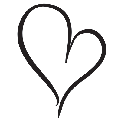 Curly heart clipart 5 » Clipart Station.