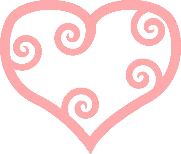 Curly Heart Clip Art at Clker.com.