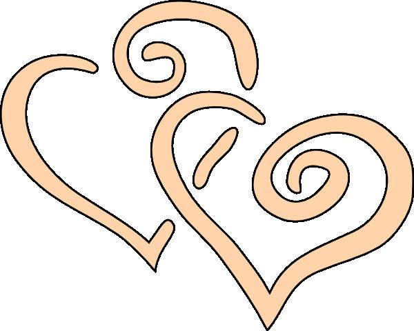 Curly Hearts Clip Art at Clker.com.