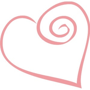 Hearts Clipart Curly.