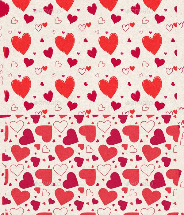 45 Free Valentine Patterns to Enhance your Valentine Designs.