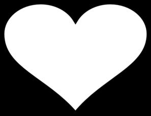 Heart Black Outline Clip Art at Clker.com.