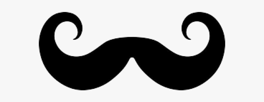 Curly Mustache Cliparts.