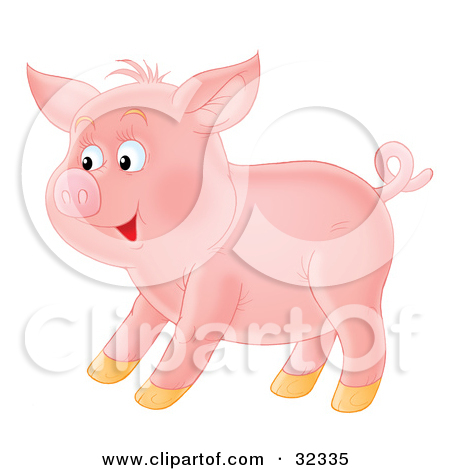 Pig Tail Clipart.