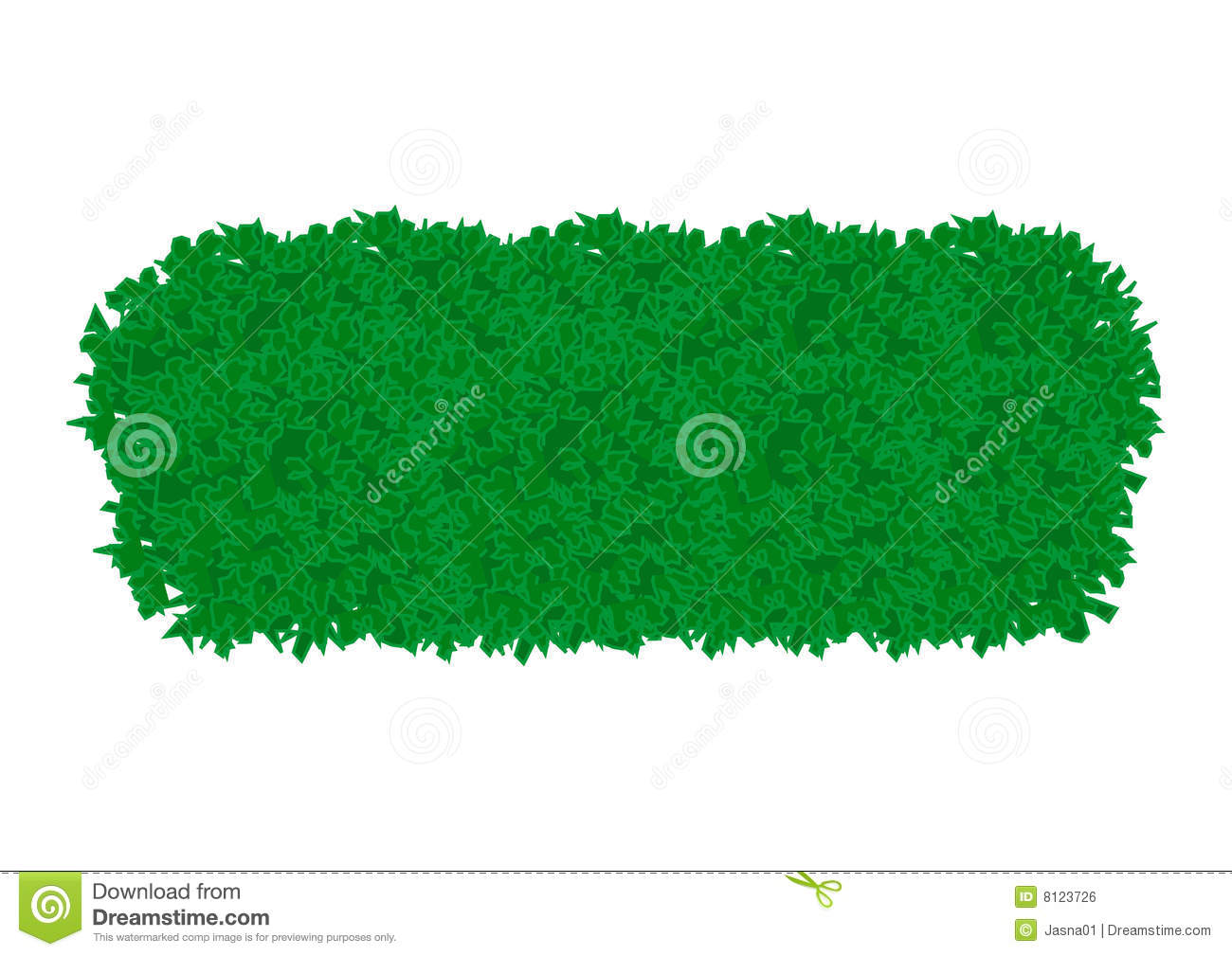 Bush Stock Image.