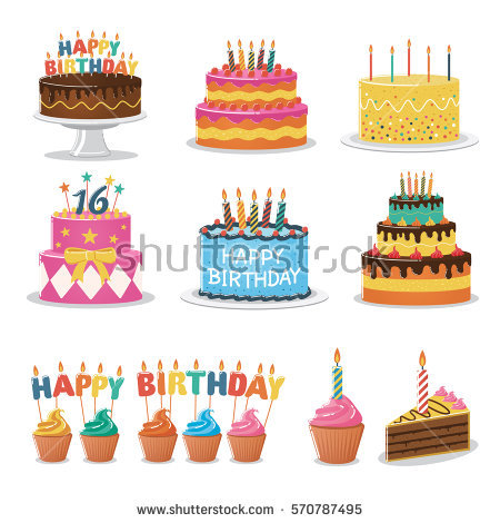 Cake Stock Images, Royalty.