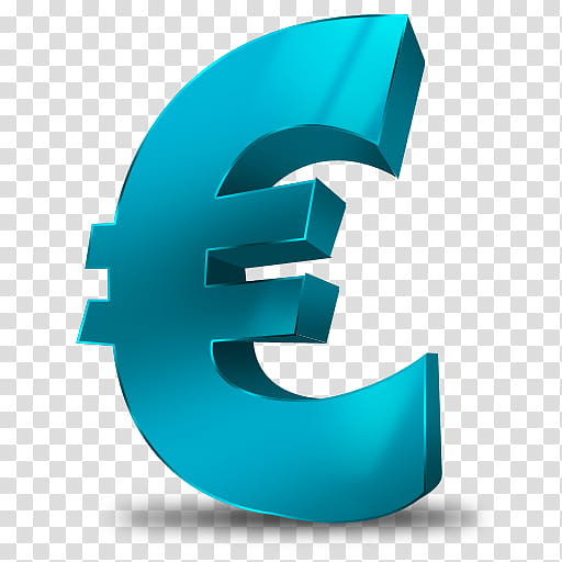 Currency Icons, Euro, euro logo transparent background PNG.