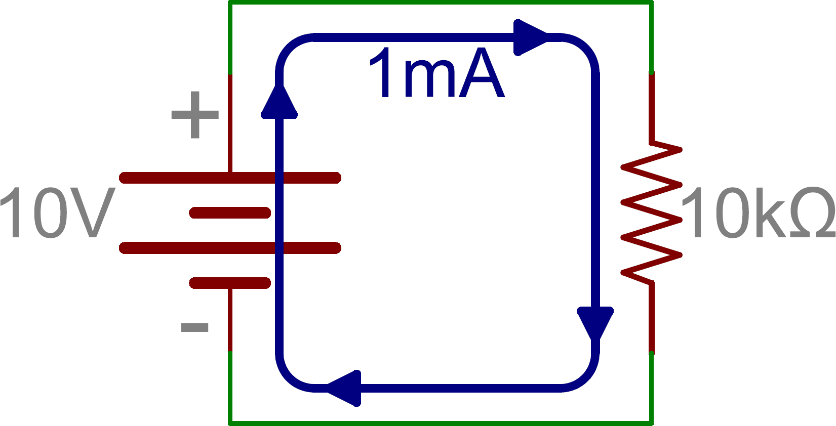 Current circuit clipart  Clipground
