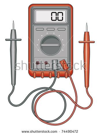 Digital Electric Meter Stock Photos, Royalty.