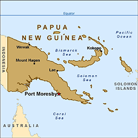 Health Information for Travelers to Papua New Guinea.