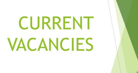 New vacancies.