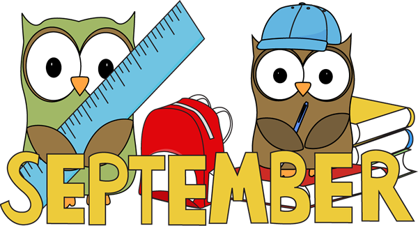 Month Of September Clipart.