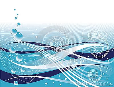Ocean Currents Stock Illustrations.