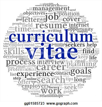 Clipart curriculum vitae.