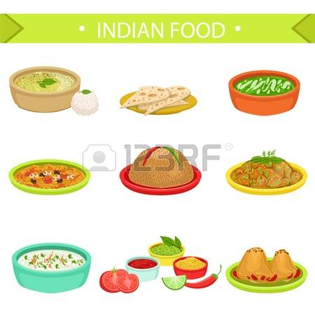 Curried cabbage clipart #12