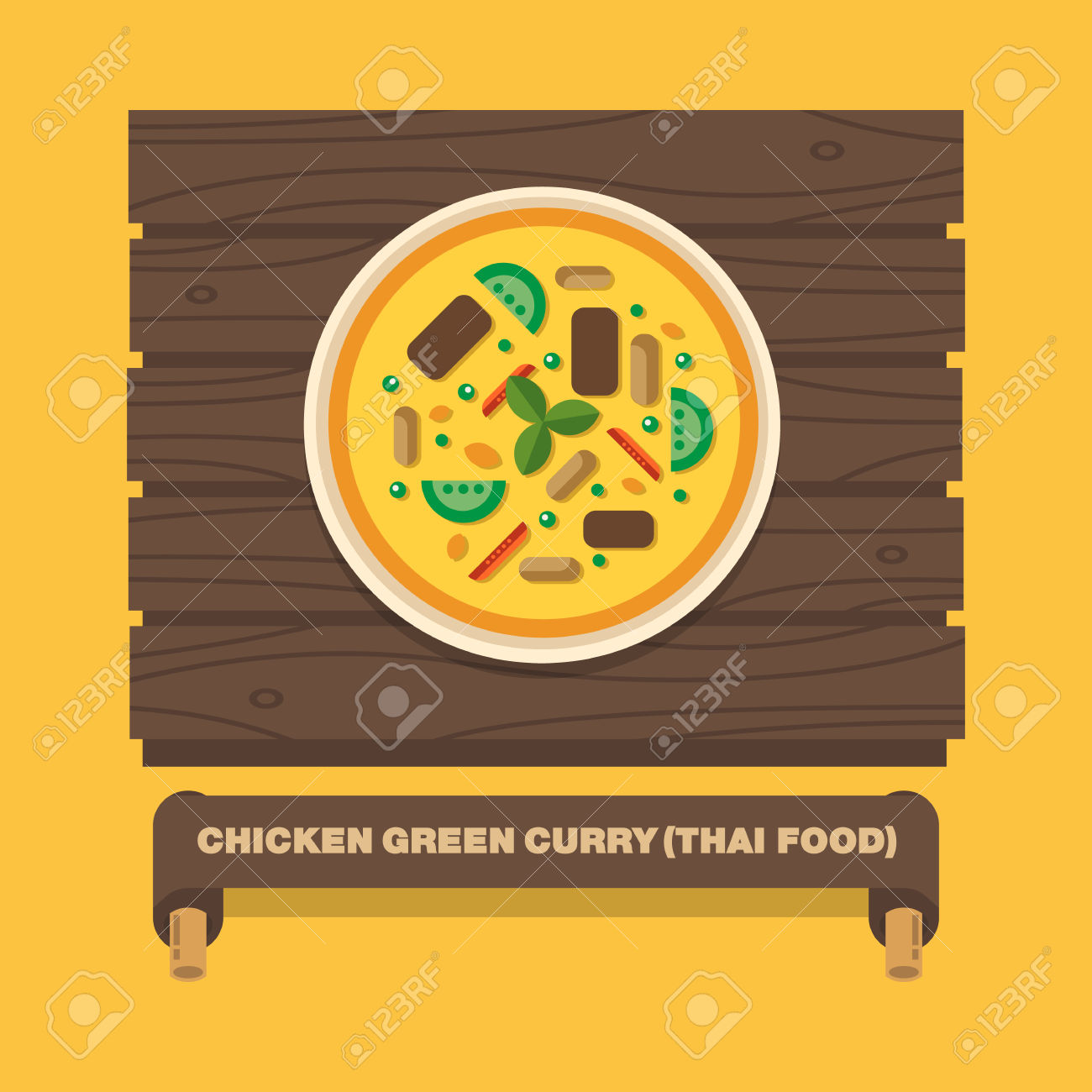 184 Curry Chicken Stock Vector Illustration And Royalty Free Curry.