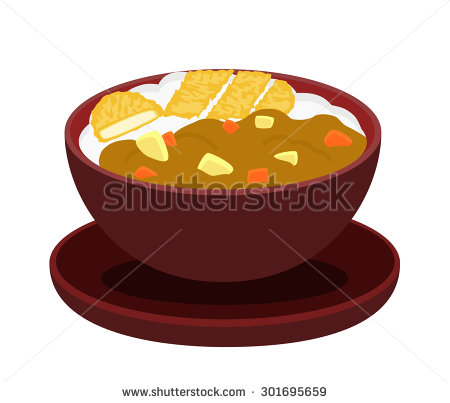 Curry And Rice Stock Vectors, Images & Vector Art.