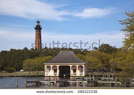 Currituck Beach Lighthouse Stock Photos, Royalty.