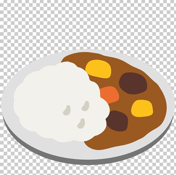 Japanese Curry Emoji Rice And Curry Android Nougat Food PNG.
