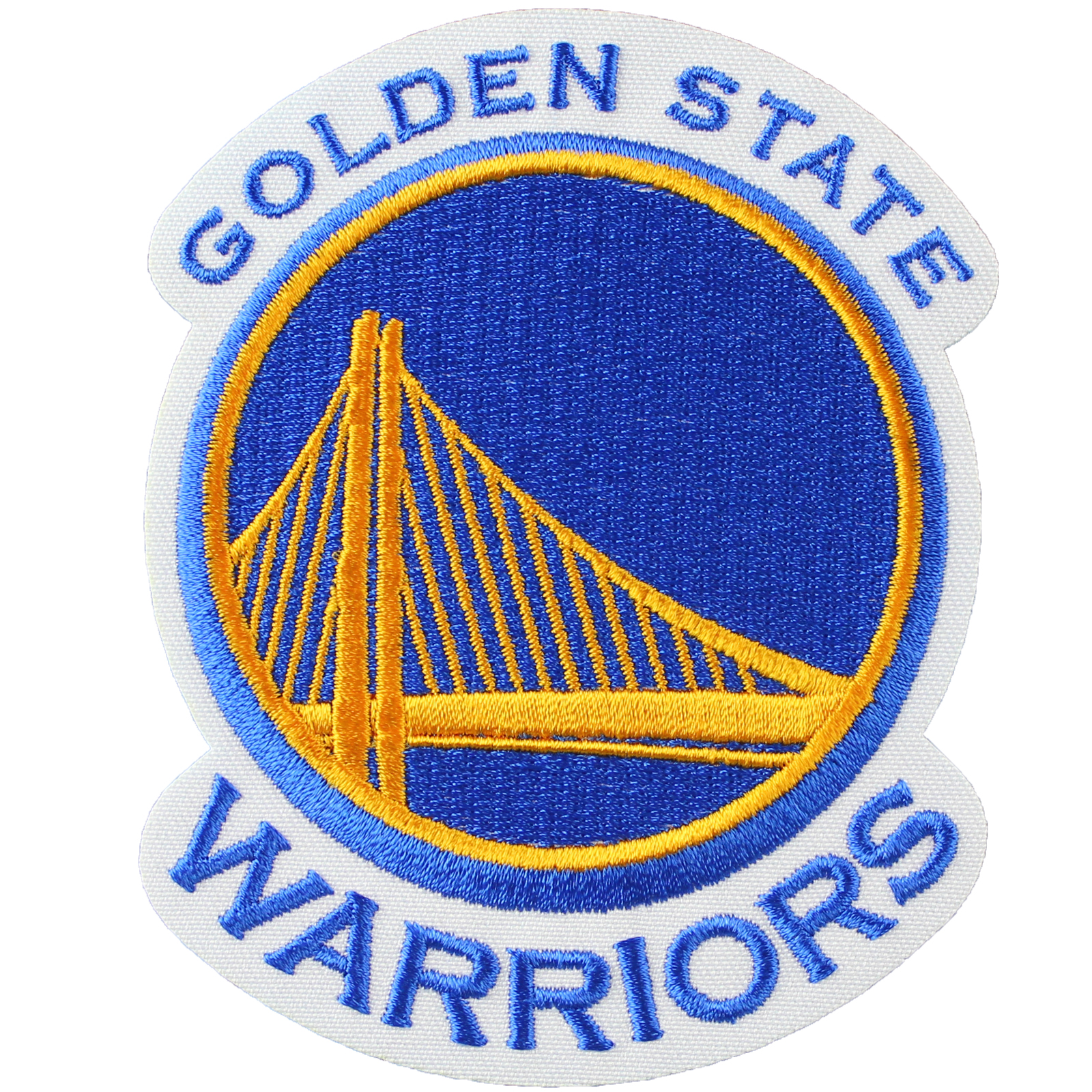 Details about Golden State Warriors Official NBA Primary Team Logo Jersey  Patch Stephen Curry.