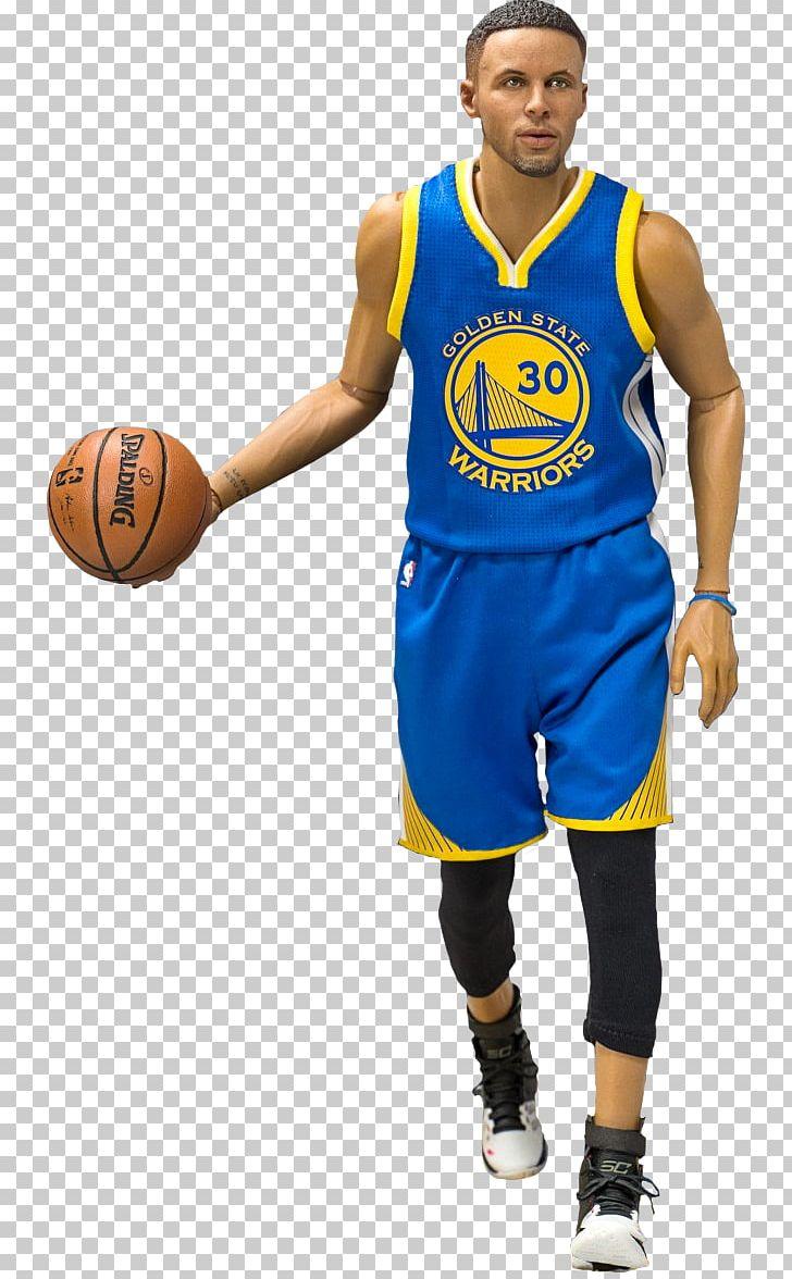 Stephen Curry Golden State Warriors Basketball Jersey NBA PNG.