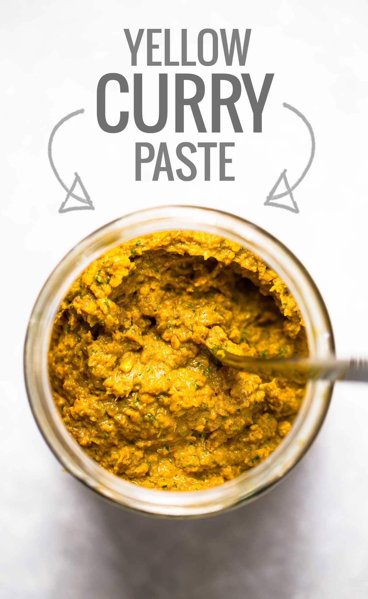 Easy Thai Yellow Curry Paste.